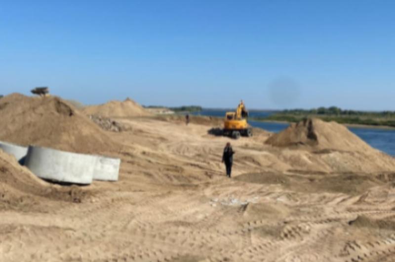 В Павлодарской области ведут работы против размыва трассы Павлодар-Курчатов