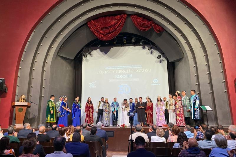 Казахстанцы выступили на концерте, посвященному 30-летию независимости тюркских государств