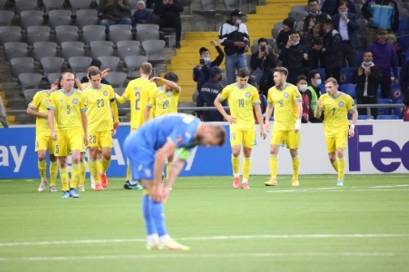 Представлены лучшие бомбардиры и ассистенты сборной Казахстана в квалификации ЧМ-2022
