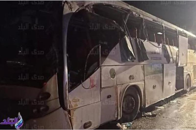 Египетте автобус апатынан 12 адам қаза тапты
