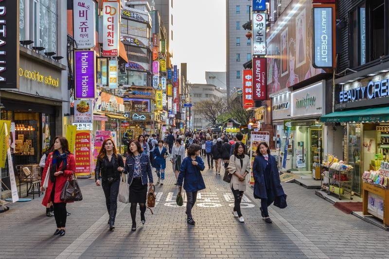 统计:韩国女性人口2030年将超男性