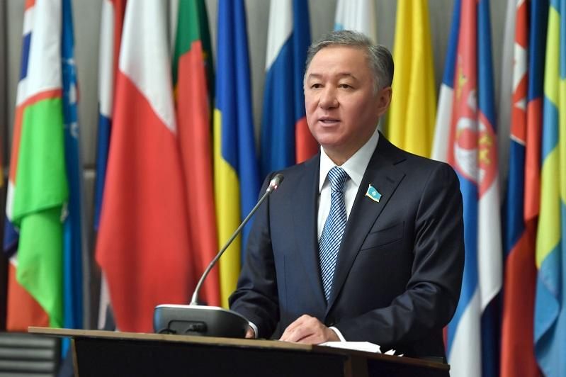 Nurlan Nigmatulin to take part in 5th World Conference of Speakers of Parliament