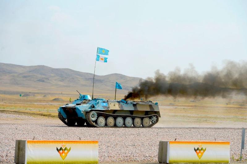 第七届国际军事竞赛:哈萨克斯坦获2金1银8铜