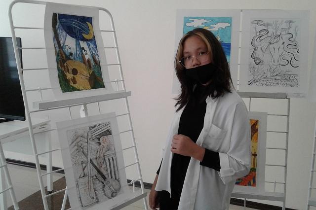 Павлодарские школьники создали иллюстрации к стихам Бахытжана Канапьянова