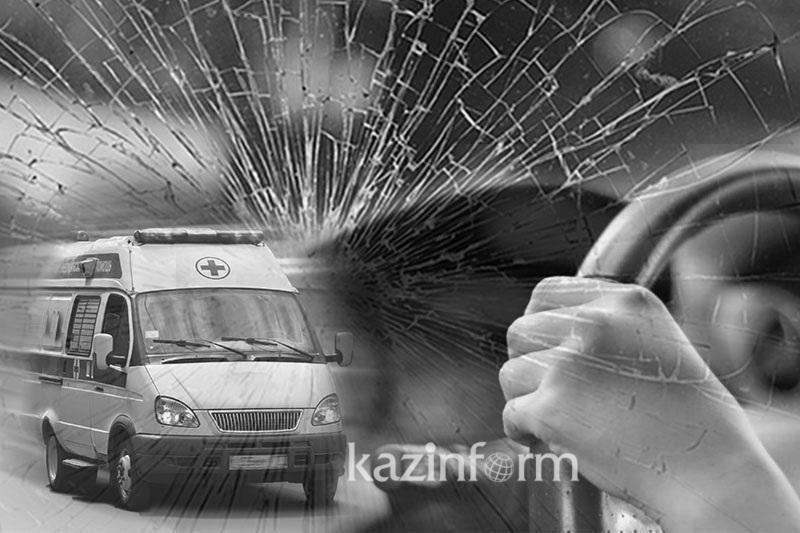 Женщина погибла в ДТП в Аксу