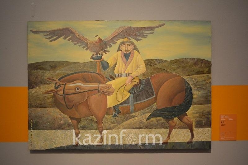 Картины казахстанских художников и детей представлены в Китае