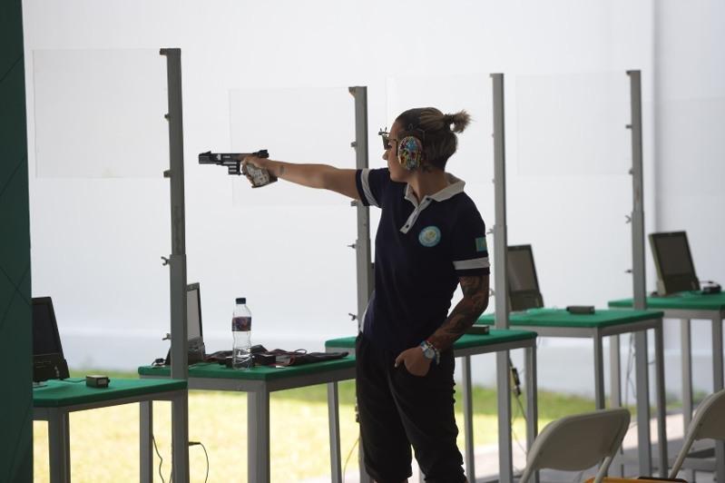 首届独联体运动会:哈萨克斯坦射击队获得四枚奖牌