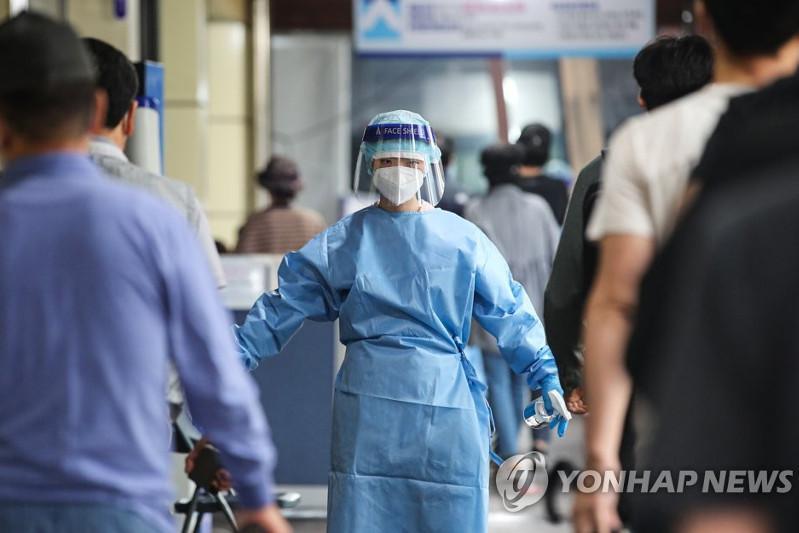 韩国新增1597例新冠确诊病例 累计263374例