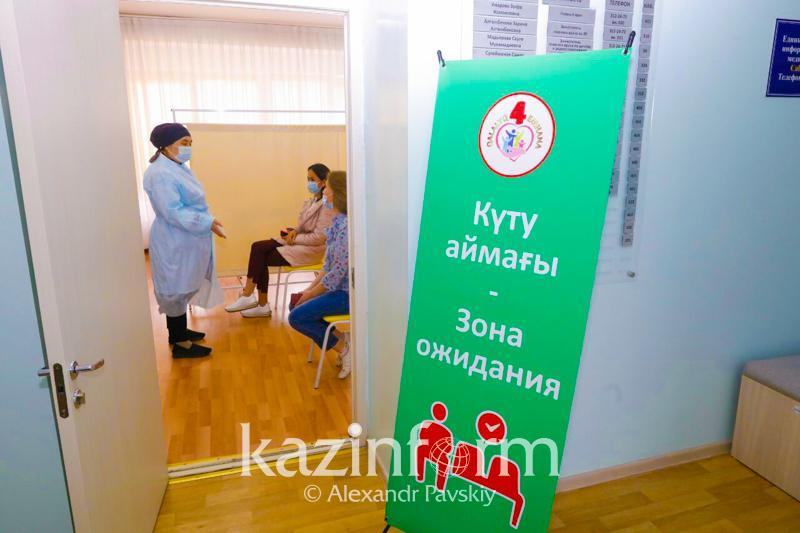 64% of Almaty rgn's population inoculated against COVID-19 so far