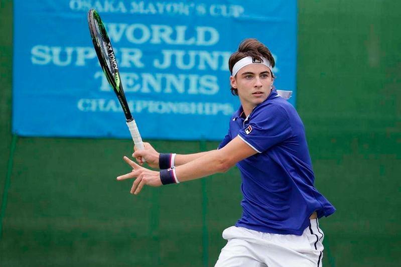 网球:哈萨克斯坦小将晋级基辅挑战赛第三轮