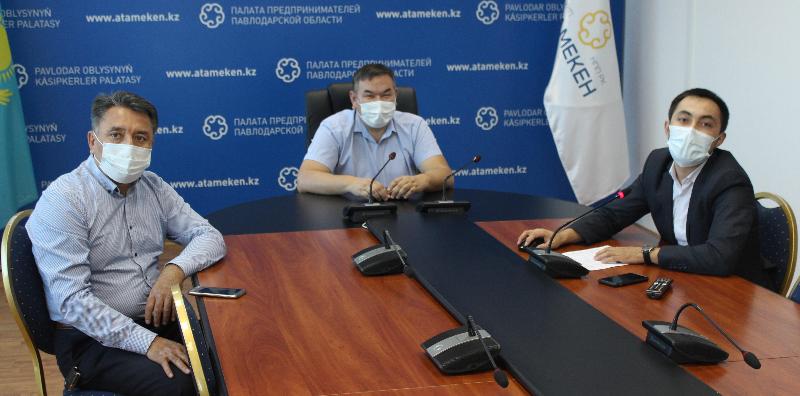 К Палате предпринимателей обратились представители стритфудов Павлодарской области