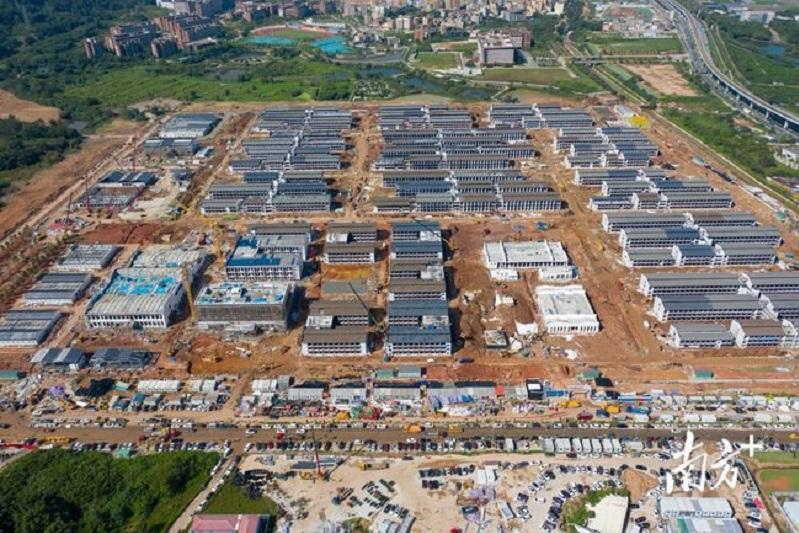 Международный карантинный центр на 5000 человек откроют на юге Китая