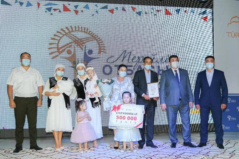 Мерейлі отбасы: Түркістанда ұлттық байқаудың облыстық кезеңі мәресіне жетті