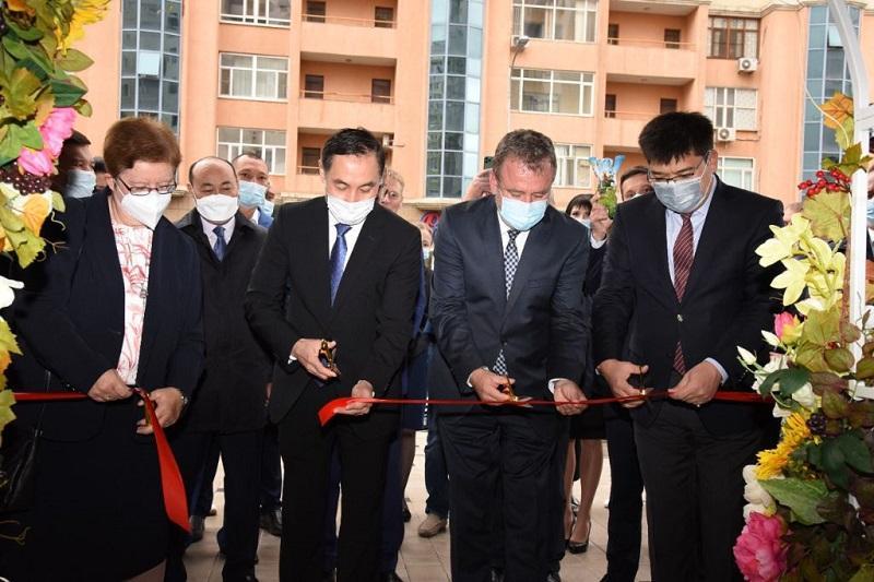 В Нур-Султане открыли Казахстанско-немецкий центр