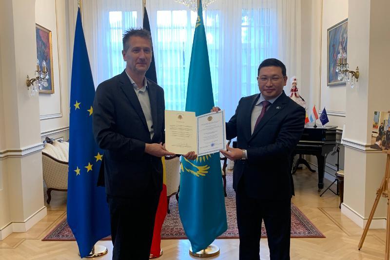 Қазақстанның Бельгиядағы жаңа құрметті консулы тағайындалды