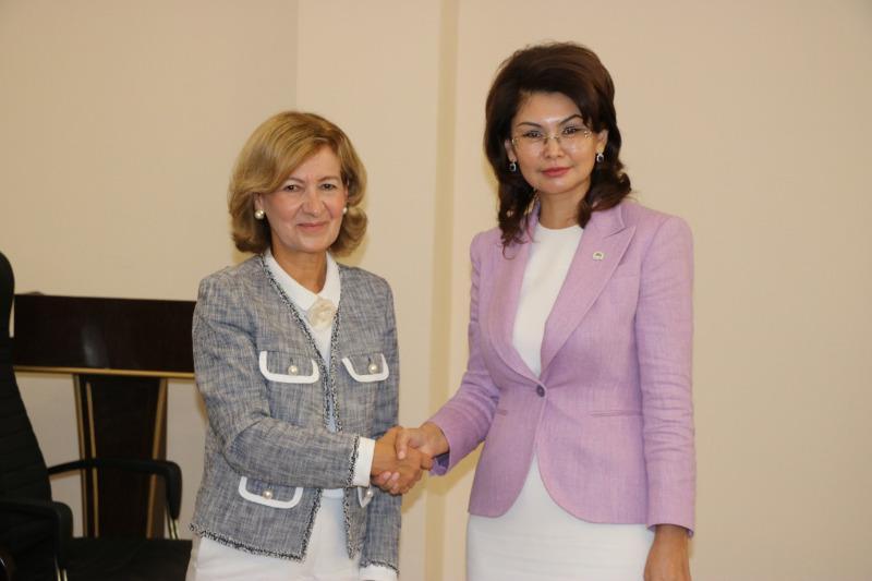 Аида Балаева встретилась с представителем ОБСЕ по вопросам свободы СМИ Терезой Рибейро