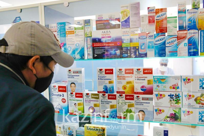Какой запас лекарств имеется в больницах Алматинской области