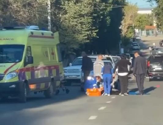 Бабушку с внуком сбили на пешеходном переходе в Жезказгане