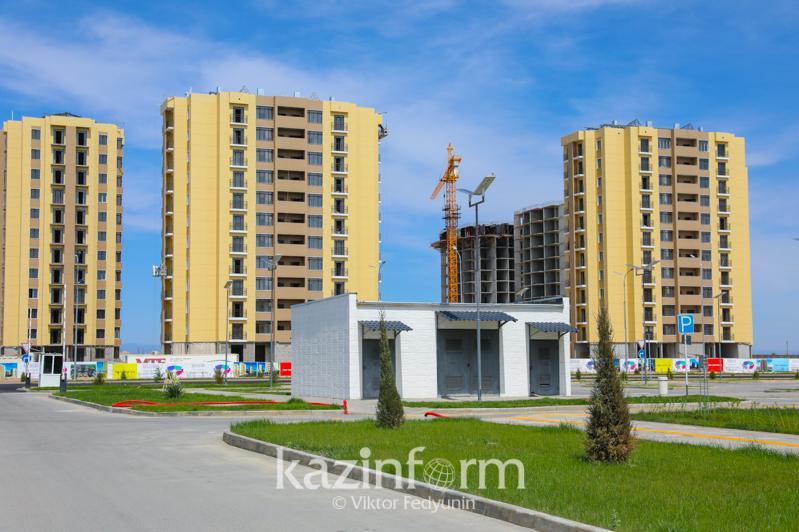 Почти 400 тысяч квадратных метров жилья введено с начала года в Туркестанской области