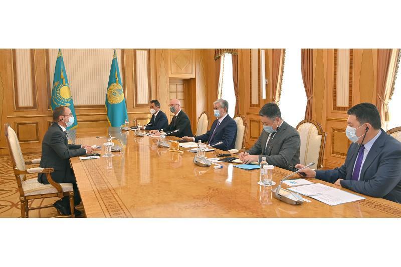 Қозоғистон Президенти Svevind Group компанияси президентини қабул қилди