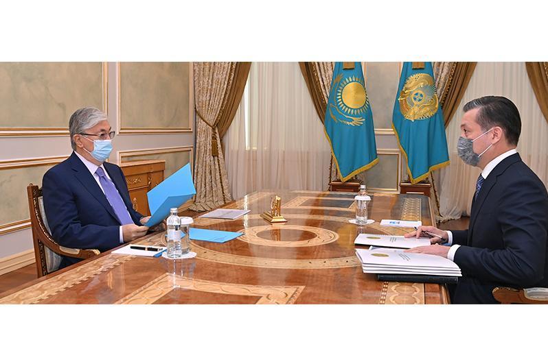 Қозоғистон Президенти Экология вазирини қабул қилди