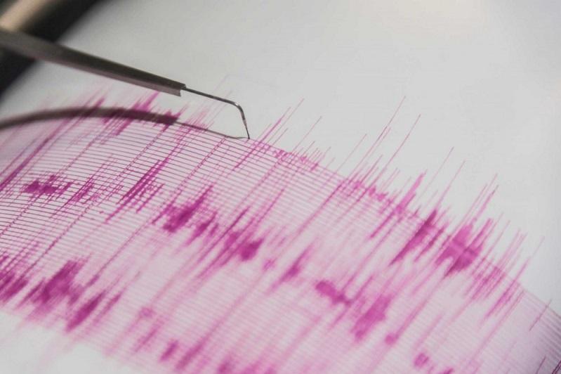 阿拉木图市东北方向286公里处发生地震