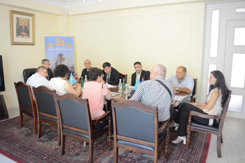 Послание Президента народу Казахстана обсудили в Армении