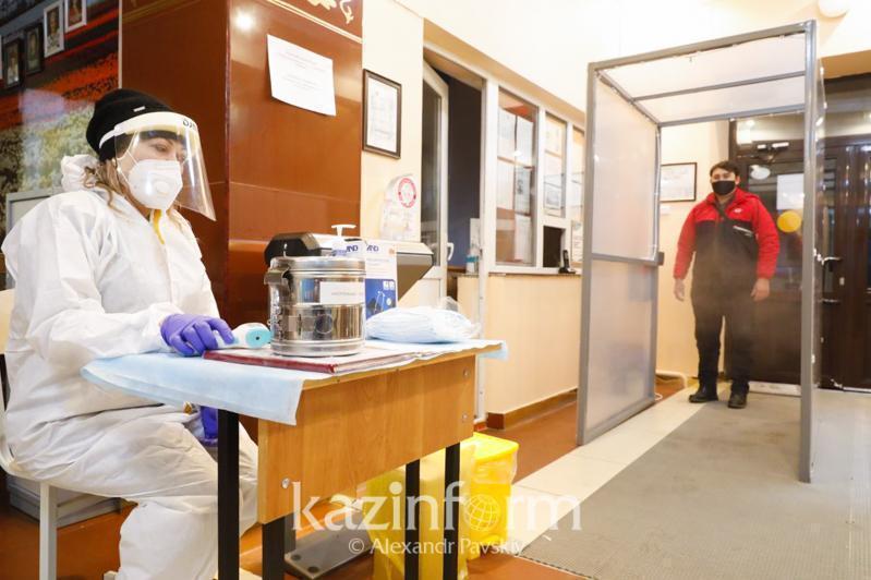 哈萨克斯坦新冠确诊病例增长率降低35%