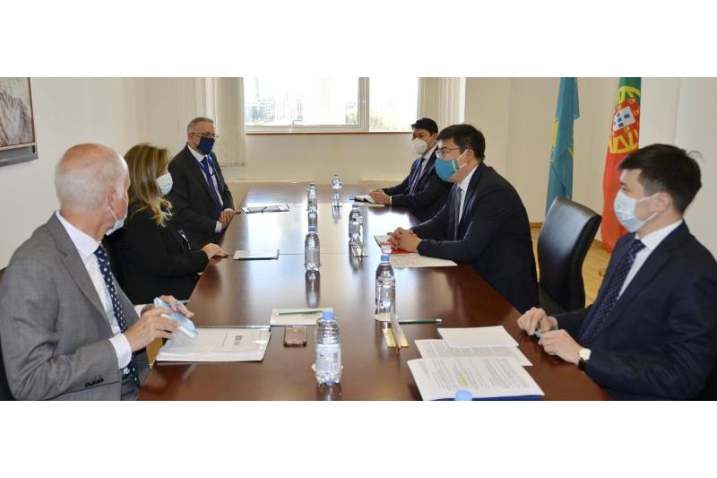 Kazakhstan and Portugal held 4th round of political consultations