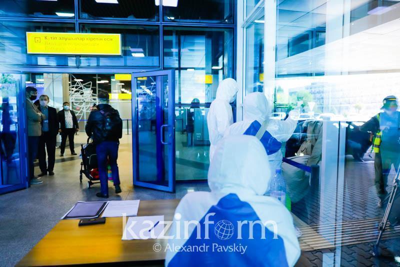 Пассажиры 43 международных авиарейсов прибыли в РК с ПЦР-справками