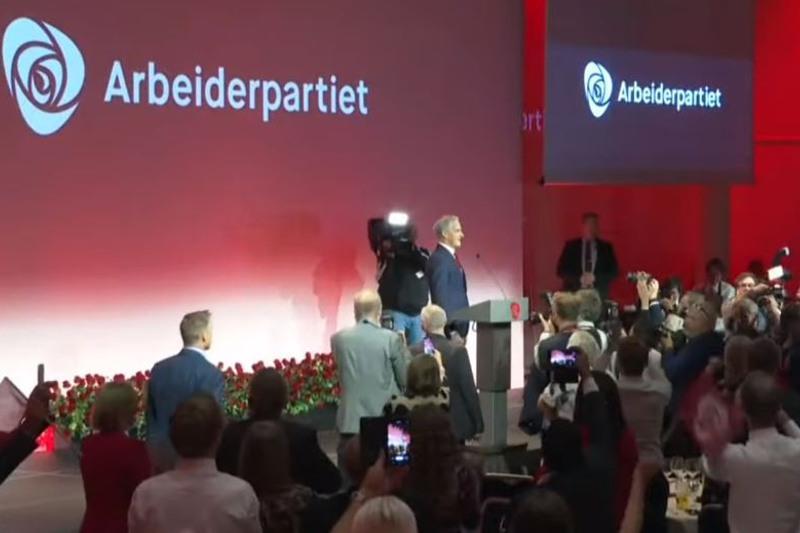 挪威中左翼联盟赢得议会选举