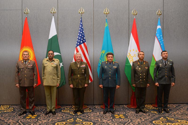 Вопросы безопасности в регионе обсудили начальники генштабов стран Центральной и Южной Азии