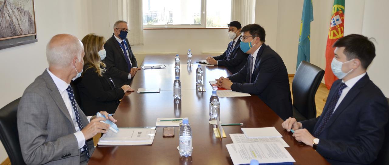 哈萨克斯坦-葡萄牙外交部间第4轮政治磋商会议日前召开