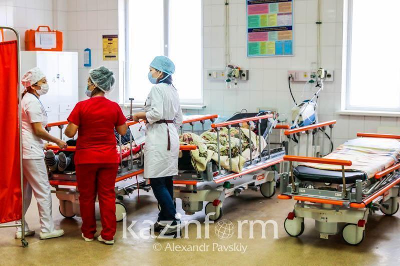 Коронавируспен ауырған 14,3 мың пациент стационарда жатыр