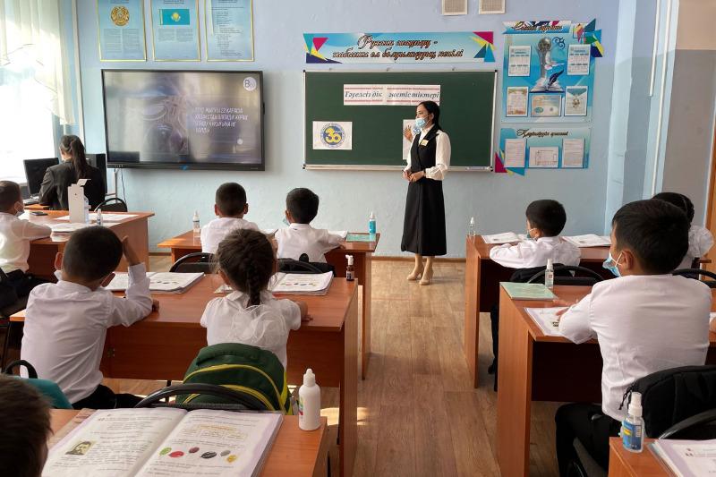 Тәуелсіздіктің 30 жылдығы: Шығыс Қазақстанның 653 мектебінде ашық сабақ өтті