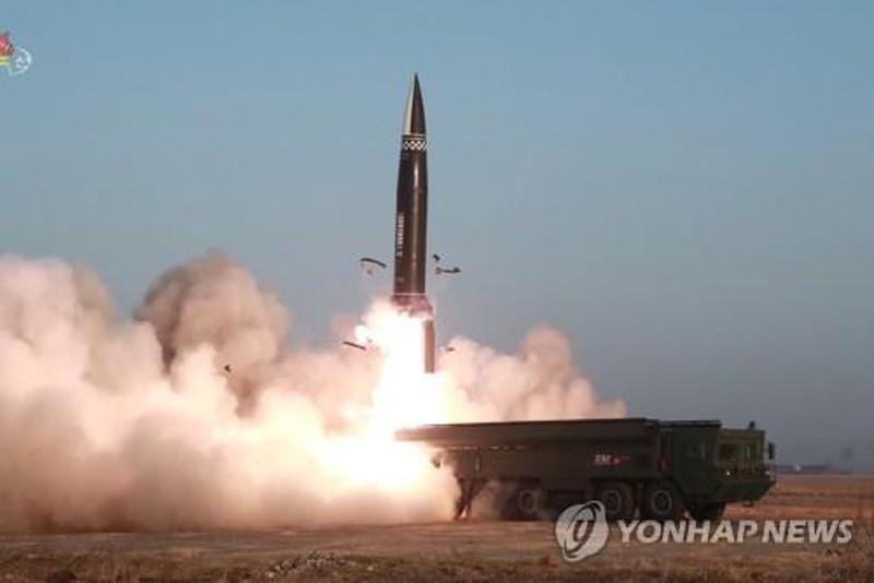 朝鲜向东部海域发射2枚弹道导弹