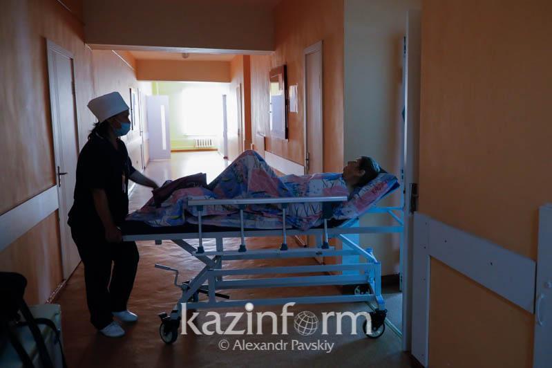 Количество пациентов в инфекционных стационарах Алматы снизилось до 2 891 человека