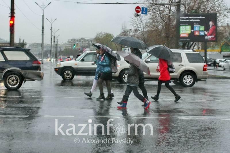 Scattered rains, cold spell heading to Kazakhstan