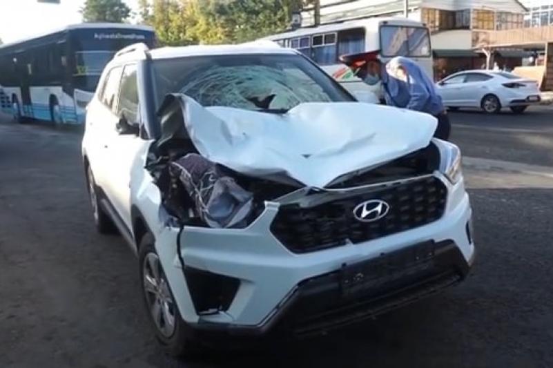 ДТП в Таразе: задержан водитель, сбивший пешеходов