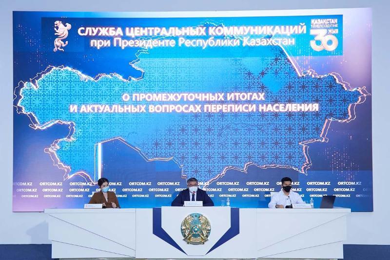 Жалобы на принудительное прохождение переписи населения прокомментировал Нурболат Айдапкелов