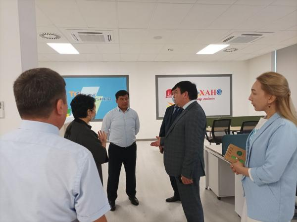 Президент Нацакадемии образования с рабочим визитом посетил Туркестанскую и Мангистаускую области