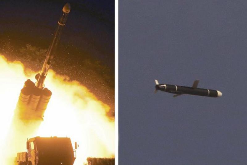Солтүстік және Оңтүстік Корея баллистикалық зымырандарды сынақтан өткізді