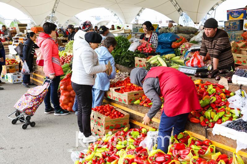 Аграрии двух областей привезут 336 тонн продукции на ярмарку в Нур-Султан