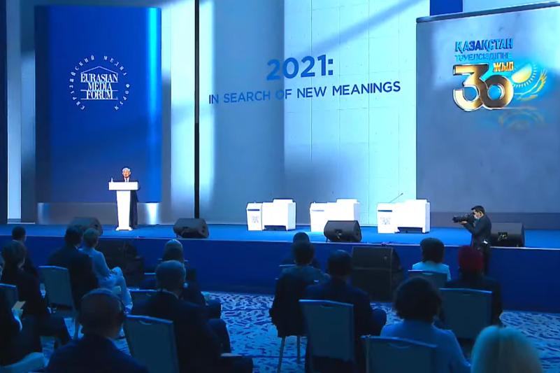 Еуразия медиа форумы консенсус іздейтін халықаралық платформаға айналды – Қырымбек Көшербаев