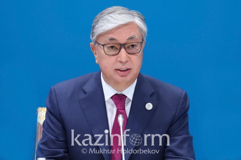 托卡耶夫总统向第17届欧亚媒体论坛致信