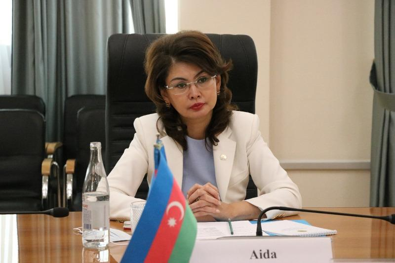 Information Minister holds talks with Azerbaijani delegation