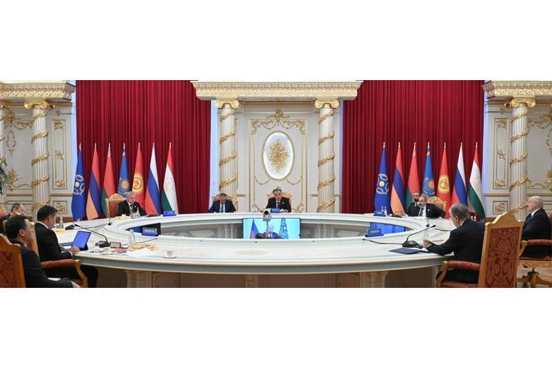 集安组织峰会签署一系列重要文件