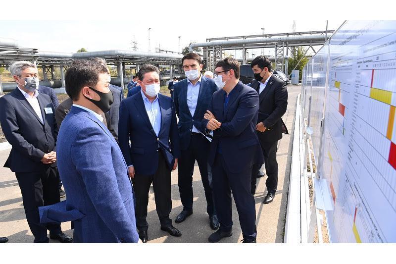 政府总理视察阿拉木图市基础设施建设情况