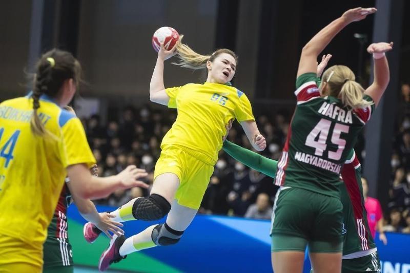 女子手球亚锦赛:哈萨克斯坦队获得两连胜