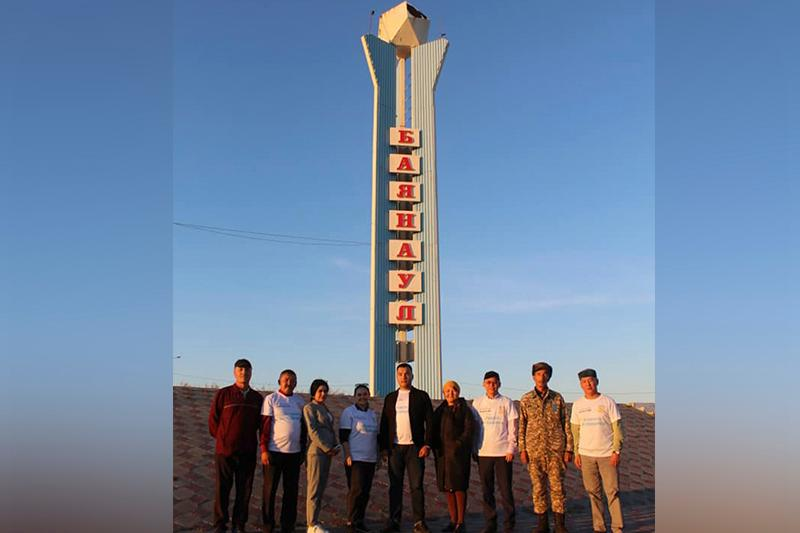 «Egemen Qazaqstan» gazetiniń espedıtsııasy Baıanaýylda